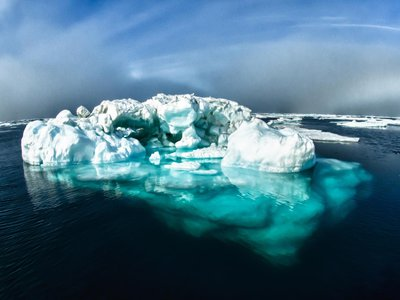 """Greenland's oldest ice—once thought of as """"the last ice area""""—is melting twice as fast as the rest of the Arctic."""