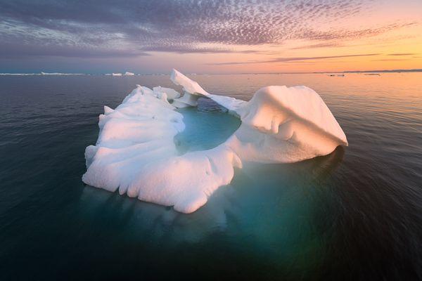 Iceberg Sunset thumbnail