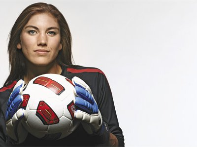 There are few soccer players better suited to play goalie than the perfectly named Hope Solo. A self-described loner, she is the best player on the U.S. women's soccer team, and its most outspoken.