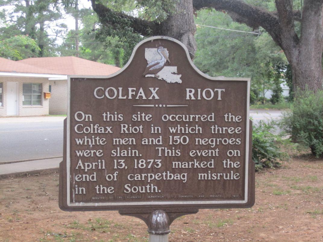 The 1873 Colfax Massacre Crippled the Reconstruction Era