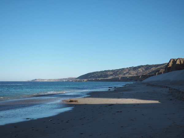 Santa Rosa Island, beach sunset thumbnail