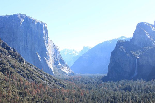 Yosemite valley at its beautiful best thumbnail