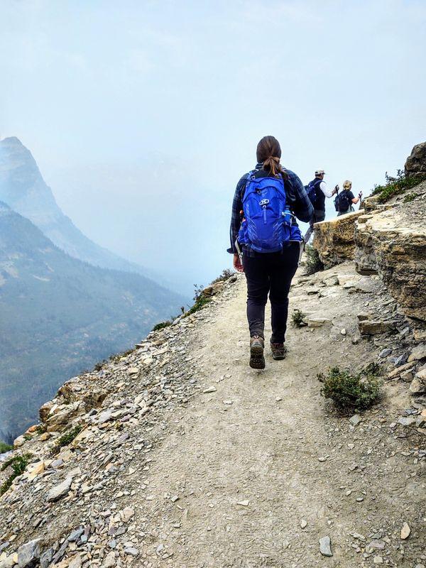 Glacier National Park, the Highline Trail thumbnail