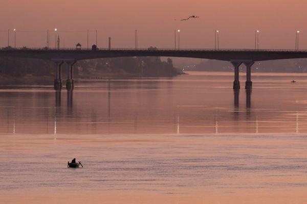 Fisherman at dawn thumbnail