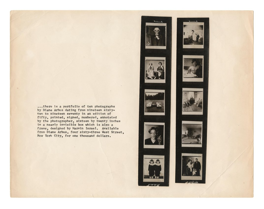 A Window into the World of Diane Arbus