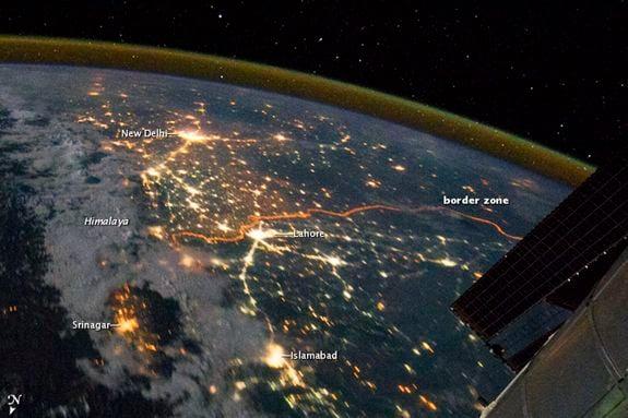 India's northwestern boundary