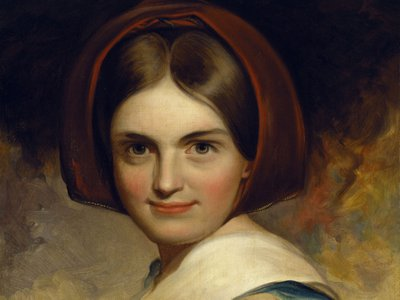 Painting of Charlotte Cushman, 1843, by Thomas Sully