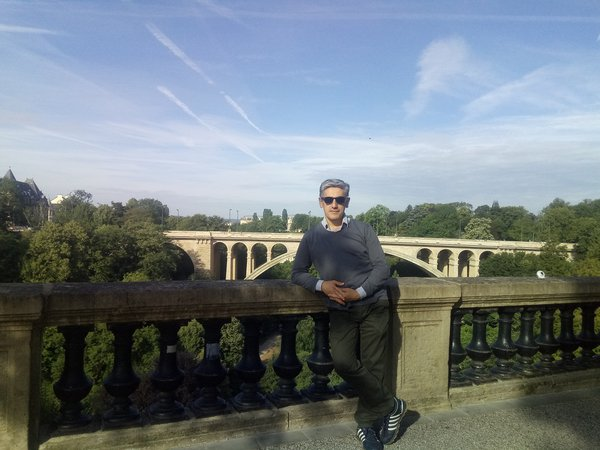 In the front of the Adolphe Bridge thumbnail