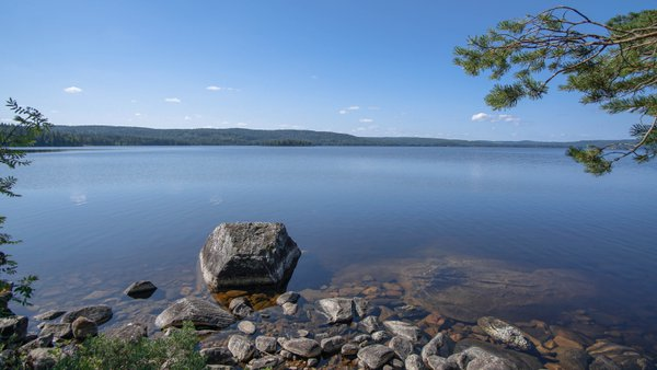 Calm, peace and quiet in Sweden`s wilderness thumbnail