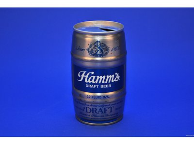 Hamm's Draft Beer Can