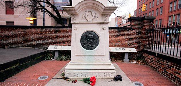 Edgar Allan Poe gravesite Baltimore Maryland