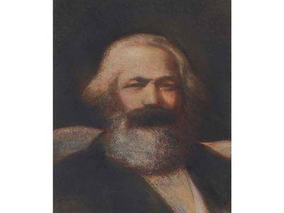 Karl Marx by John Collier, 1977