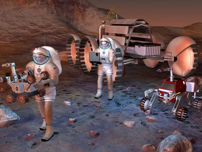 Humans traveling to Mars may need extra shielding for their brains.
