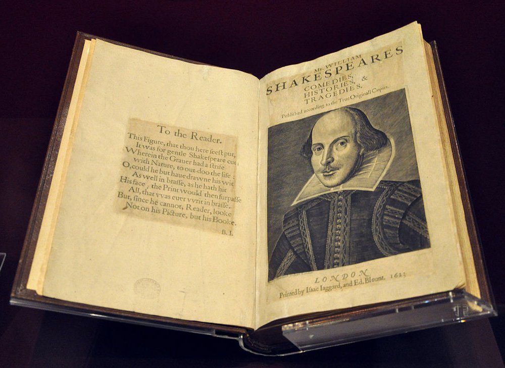 First Folio Shakespeare