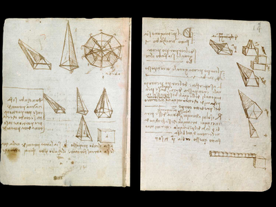A few pages from the recently digitized codex.