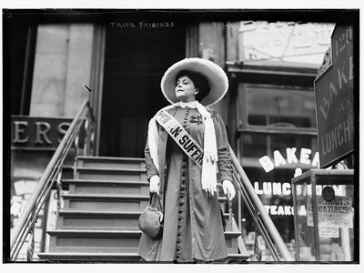"""Trixie Friganza, noted feminist, suffragist and inspiration for """"Take Me Out to the Ball Game"""""""