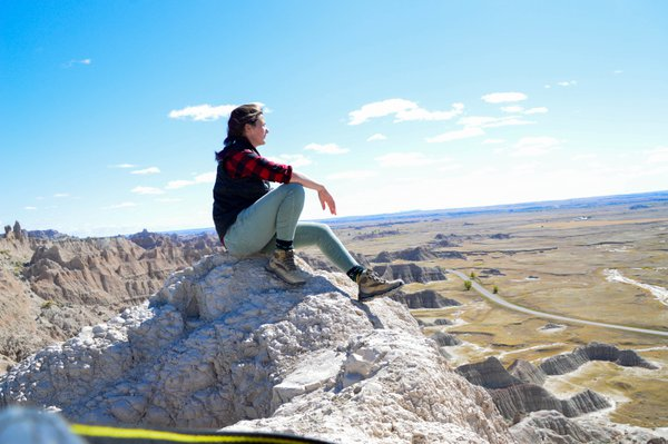 Selfie in the Badlands thumbnail