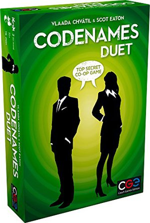 Preview thumbnail for 'Czech Games Codenames: Duet - The Two Player Word Deduction Game