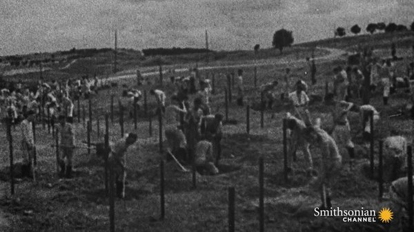 Preview thumbnail for Surreal Footage of British Life Under Nazi Occupation