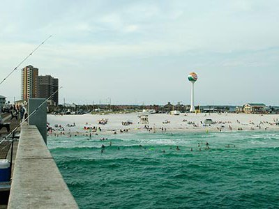 """Pensacola, its anchorage first admired by the Spanish 450 years ago.  In 1686, Spanish navigator Juan Jordán described Pensacola's bay as """"the best I have ever seen."""""""