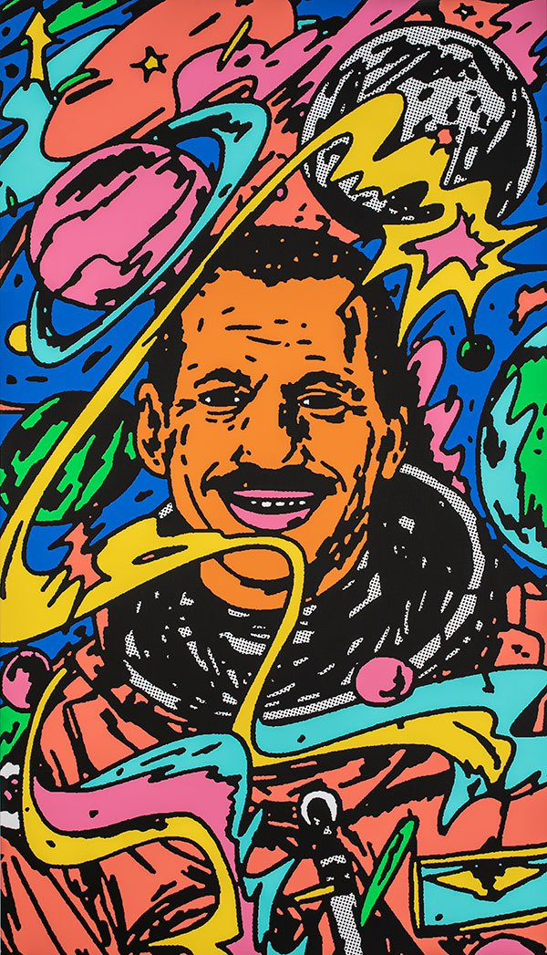 <i>Charles Bolden Portrait</i> [Charles Bolden], 2018. Bráulio Amado. Courtesy of the artist.