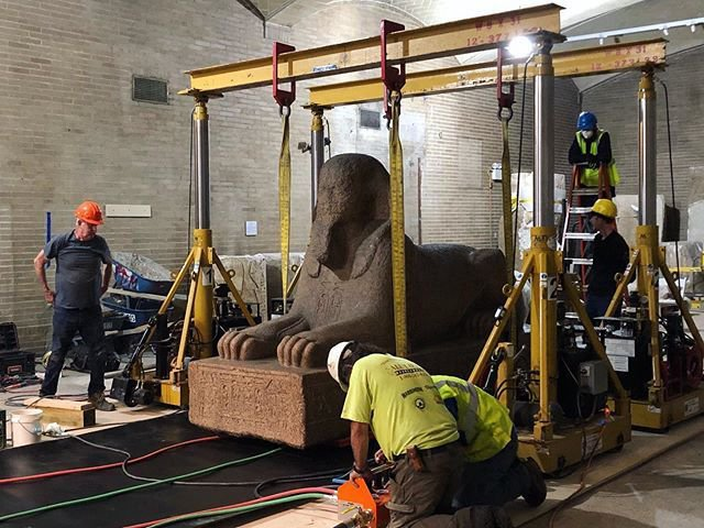 A Moveable Sphinx