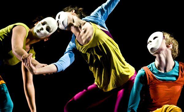 Modern dance majors at the University of Utah thumbnail