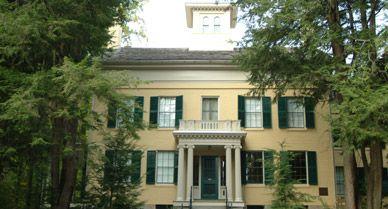 The Homestead, Emily Dickinson's house in Amherst, Massachusetts