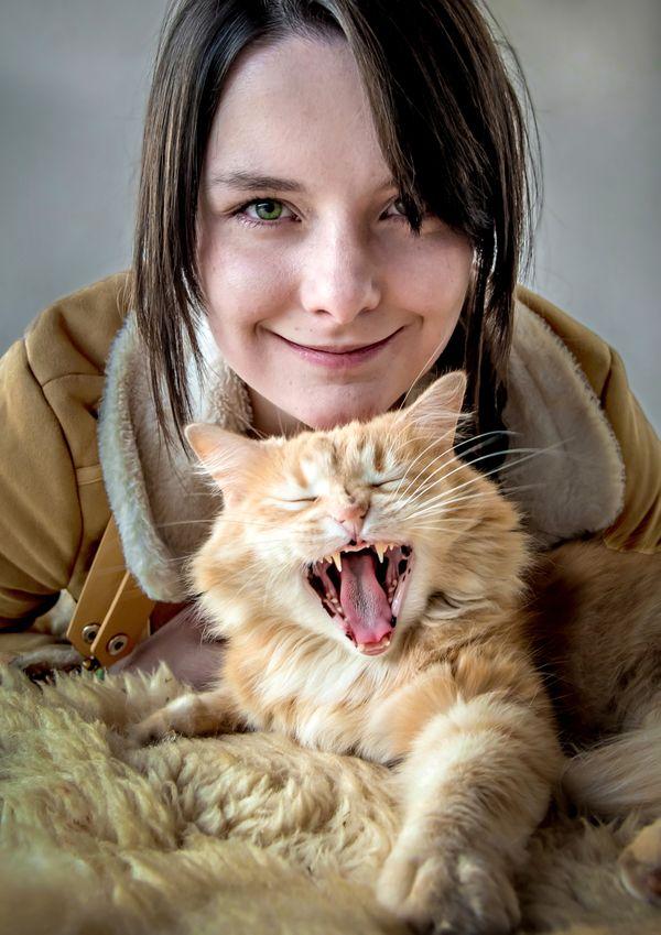 Smile for photo thumbnail