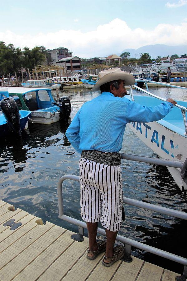 Guatemalan Man in Traditional Garb thumbnail