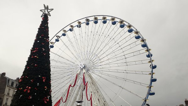 Lille France Christmas Carousel thumbnail