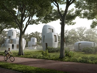 Artist's rendering of the futuristic community, which is set for development over the next five years