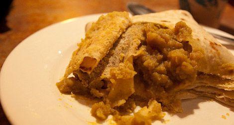 Roti, a Trinidad specialty