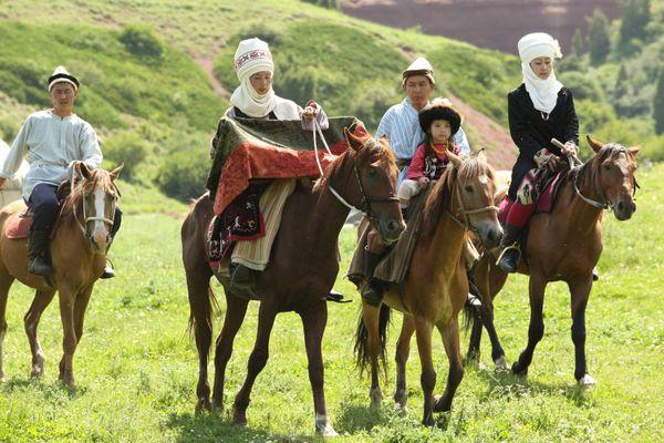 The Kyrgyz nomads thumbnail