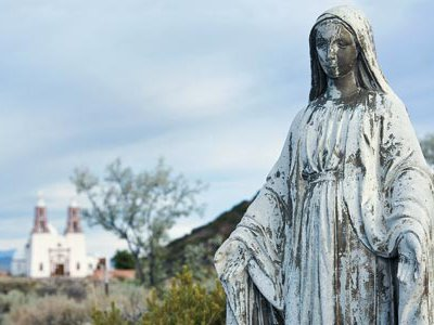 For some people in the region (Chapel of All Saints, San Luis, Colorado), the DNA results have been a revelation.
