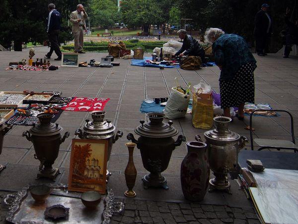Flea market in Tbilisi, Georgia thumbnail