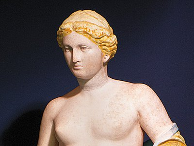 As the goddess of love, beauty and sexual pleasure, Aphrodite inspired cult worship and challenged artists to render her in suitably magnificent form.