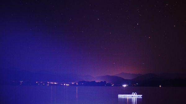 Night Float Glow on Button Bay, Vermont thumbnail