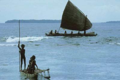 Did ancient Australians witness a similar scene?