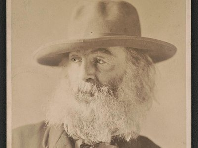 Walt Whitman in 1869, as photographed by William Kurtz
