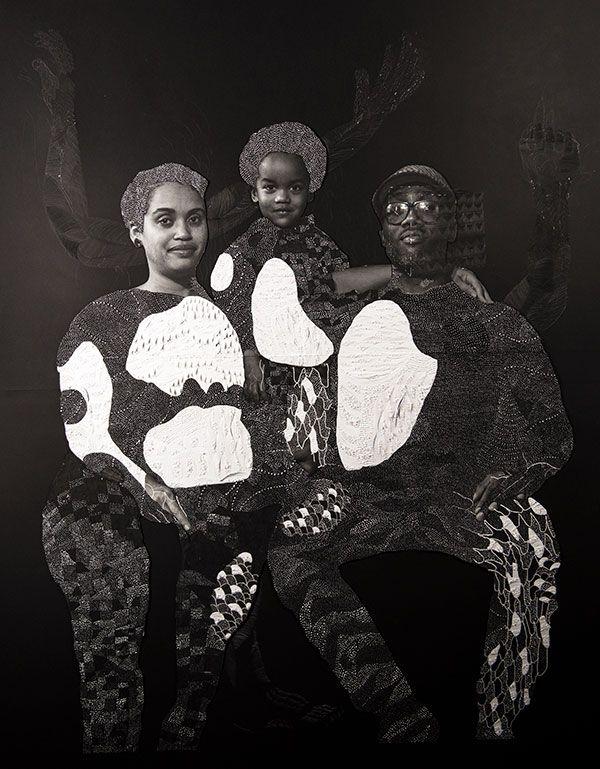 <i>Sankofa</i> [Carter G. Woodson], 2018. Nate Lewis. Courtesy of the artist.