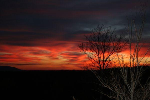 Oklahoma sunset thumbnail