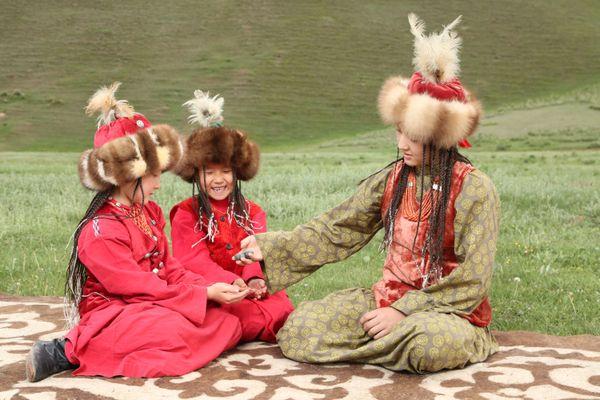The Kyrgyz girls thumbnail